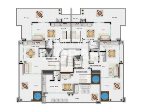 V017 - Twin Townhouse in Pumps - 23