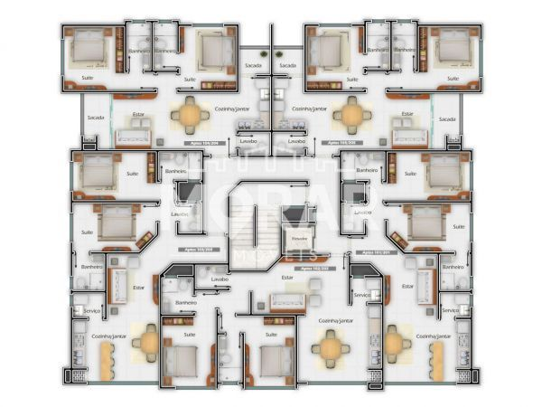 V017 - Twin Townhouse in Pumps - 21