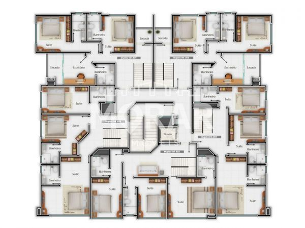 V017 - Twin Townhouse in Pumps - 24
